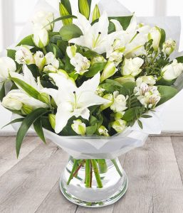The Orient Sympathy flowers from Every Bloomin Thing Flowers Glasgow