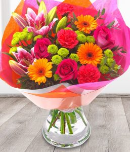 Vibrant bouquet from Every Bloomin Thing Flowers Glasgow