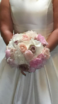 Wedding Bouquet from Every Bloomin Thing Flowers Glasgow